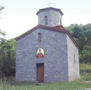Црква Огњене Марије у Миливској клисури