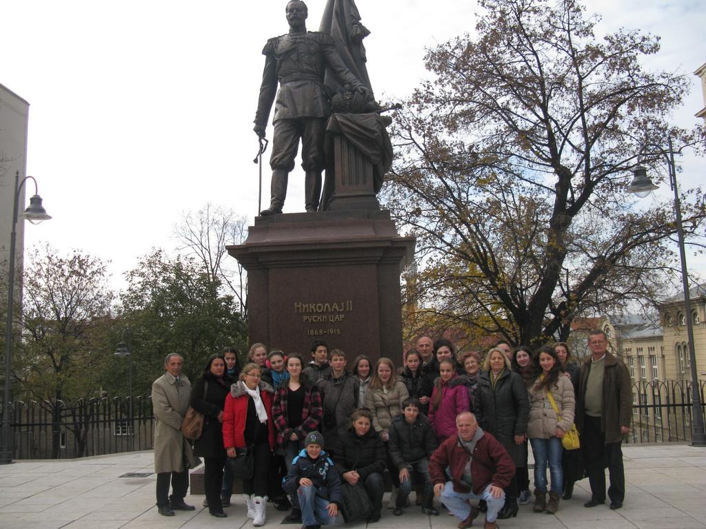 Екскурзија 25.11.2014. Београд - Споменик Николају II