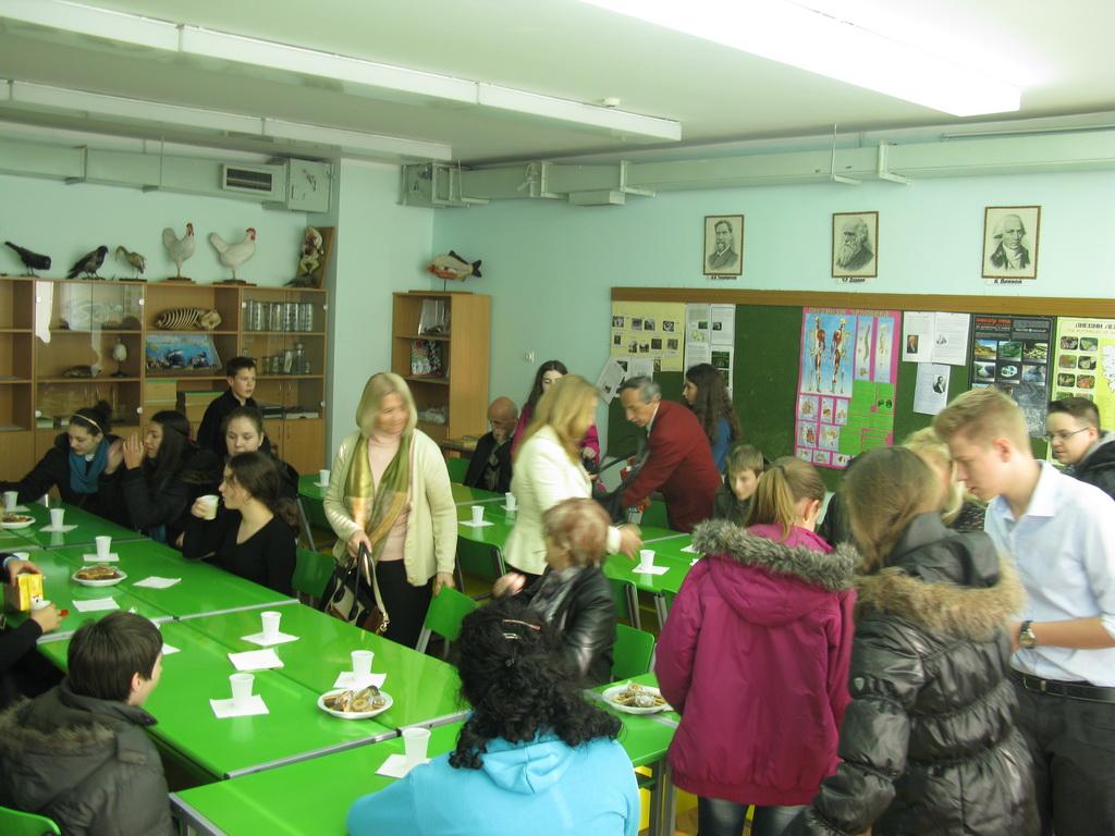 Екскурзија 25.11.2014. Београд - Руска школа