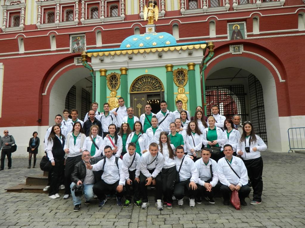 Гостовање у Москви од 28.04. до 01.05.2014.године
