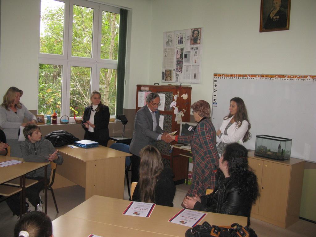 Квиз знања руског језика 25.10.2014. године, Плажане