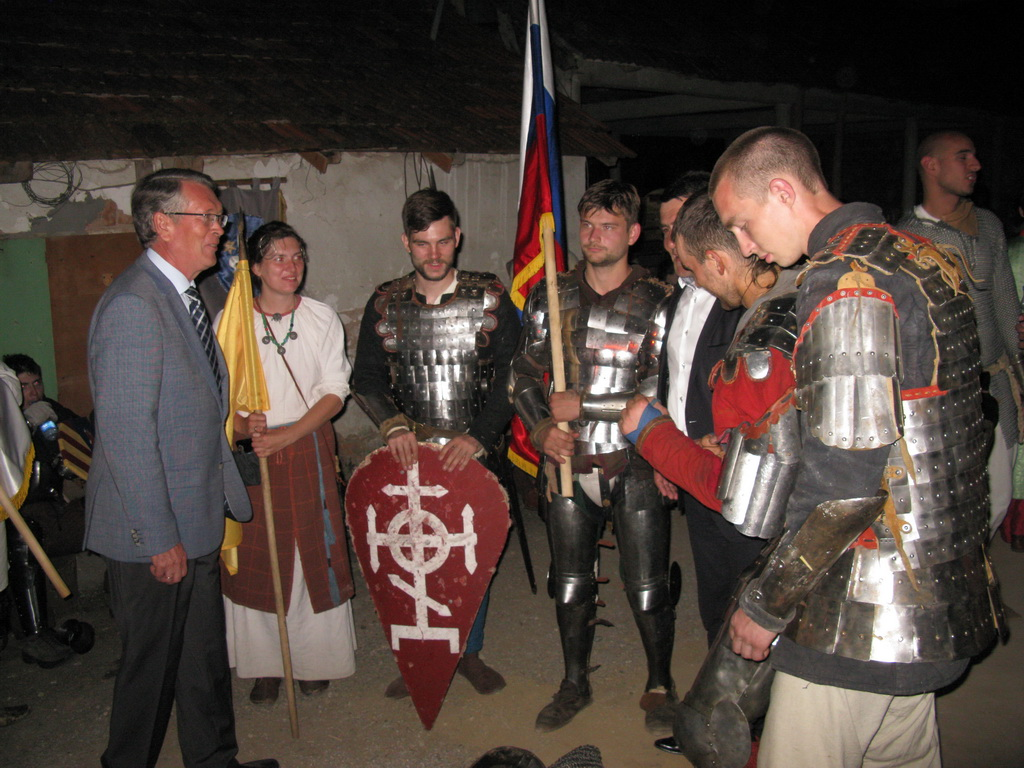 Руски витезови на фестивалу витештва у Деспотовцу, август 2015.год.